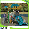 outdoor combined slide,children playground,plastic slide