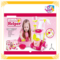 Funny Plastic Cleaning Set Toy For Kids Play House Toy