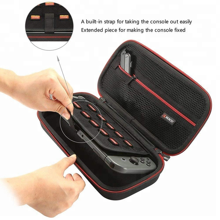 RLSOCO hot sale Switch Carrying Case with 10 Game Card Slots Fit for Nintendo Switch Console