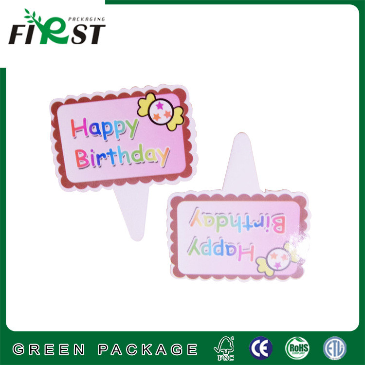 birthday cake design paper card,paper card decoration,paper decoration