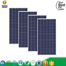 260w monocrystalline solar panel pv module 300 watt solar panel 100w solar panel price for wholesales