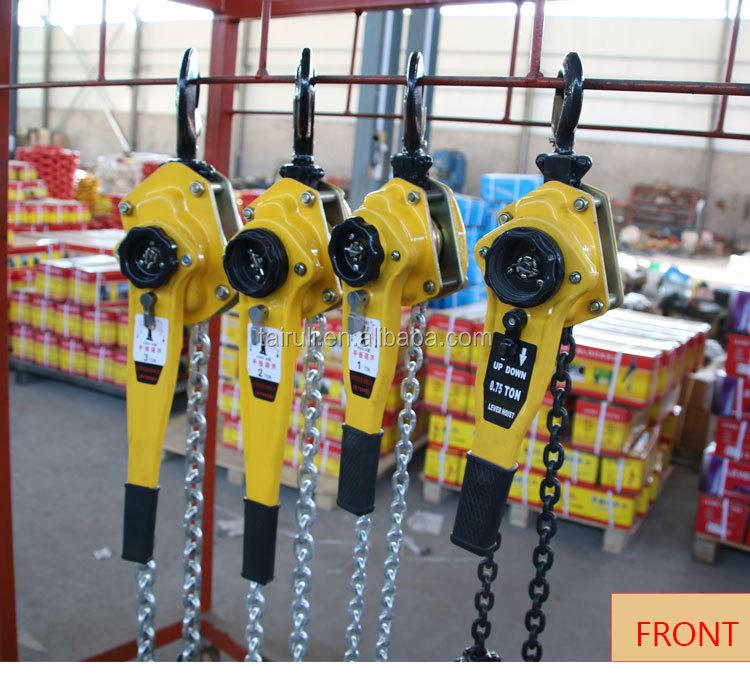 Trung quốc Nhà Máy 3Ton Tay Hoạt Động Mức Độ Palăng Xích Mức Độ Khối 250 kg Lever Chain Hoist