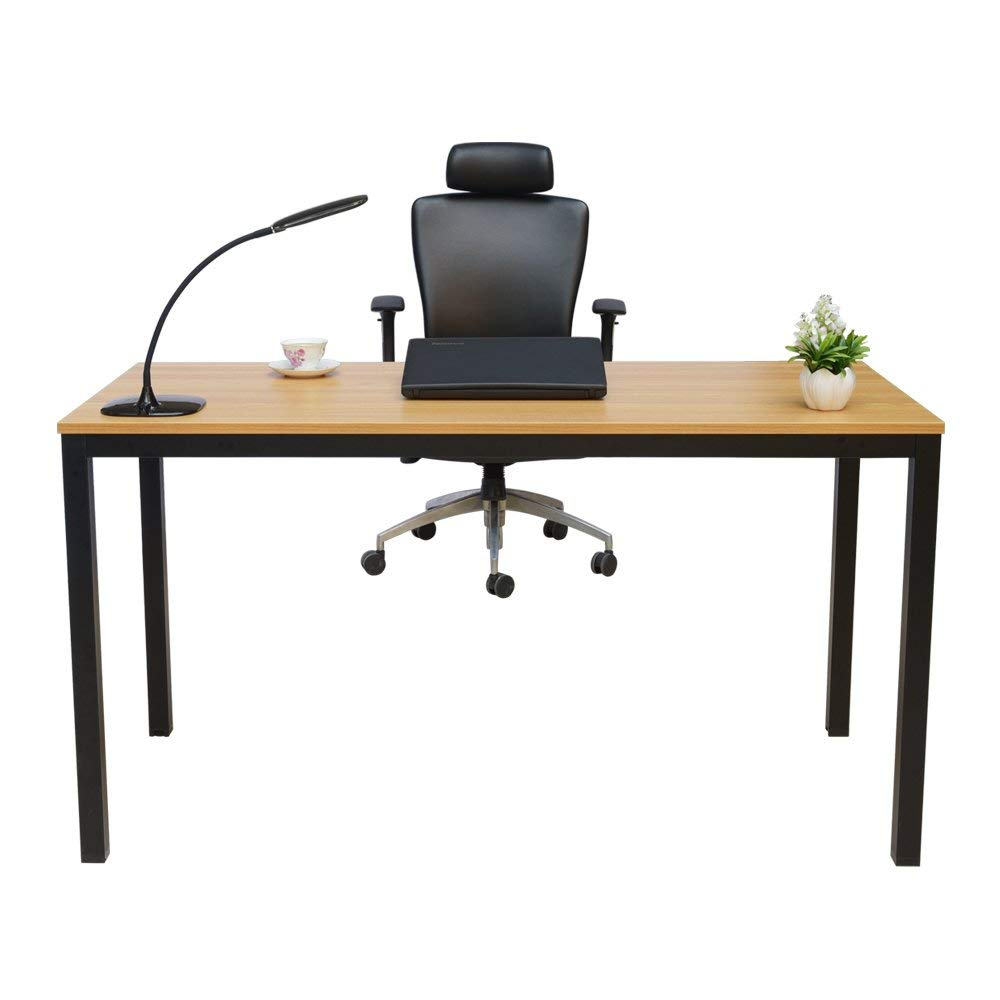 "Homelifairy Computer Desk,55"" Modern Home Office Desk for Gaming/Study/Writing and Dining Table, Home Office Furniture"