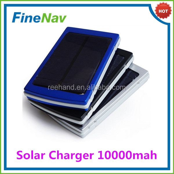4 LED indicators to show the power state 2.1A output solar charger for table pc Mini usb solar panel charger