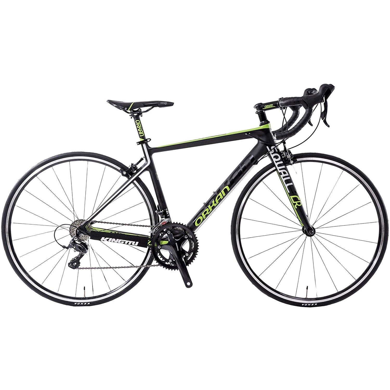 GTM 700C Road Bike Carbon Fiber Frame / Fork, Shimano sora 3500 Racing Bicycle Ultra-light 18.7lbs