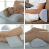 Half Moon Cylinder Memory foam Pillow