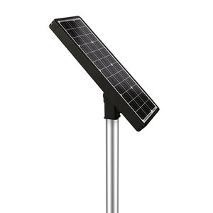 30 Watt High Power All In One 170lm/w Solar LED Street Light Integrated Solor Outdoor Light With PIR