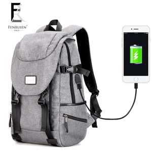 hot waterproof anti theft charging backpack usb,smart backpack with phone charger