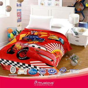 Hot Sale 100% polyester knit polar fleece sublimation printed NFL blankets