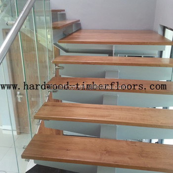 Foshan Factory Hot Sales Natural Wood Stairs Treads