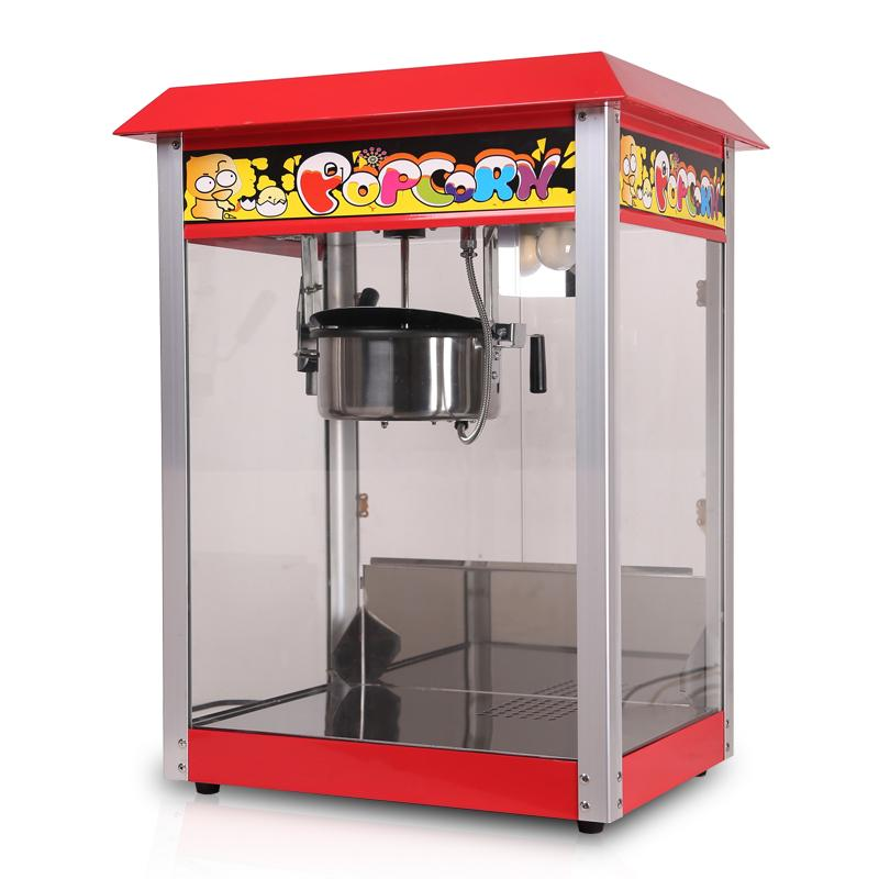 CE approved commercial popcorn machine price