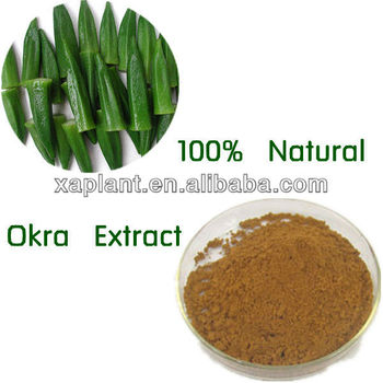 100% High Quality Okra Extract Powder for men sexual health