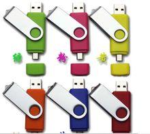 CE FCC ROHS Rotationing usb 2.0 tiny usb 8gb 16gb otg memory stick micro usb for smartphone