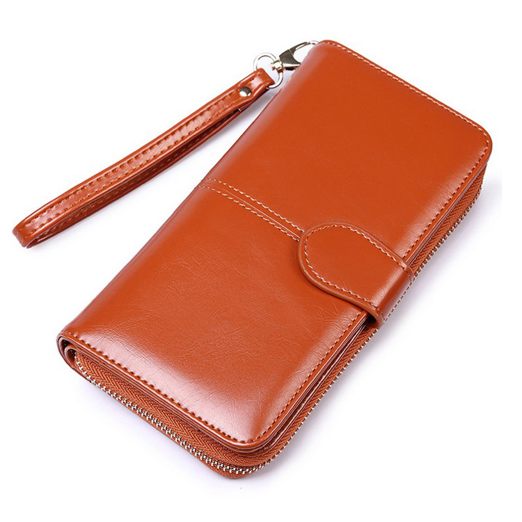 Fashion pu leather Cell Phone bifold ladies clutch <strong>wallets</strong>