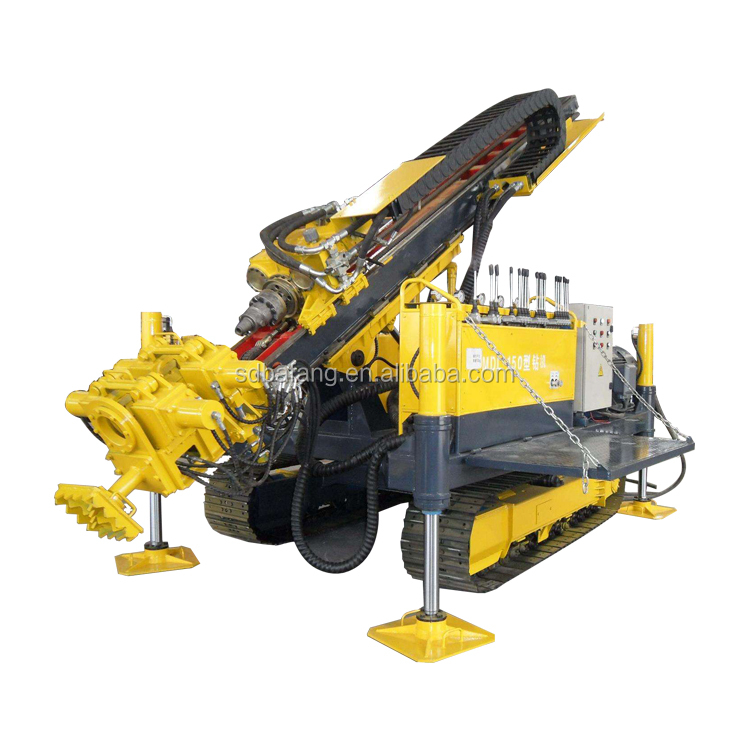 130-170m depth rotary drilling Hydraulic Anchoring drill machine