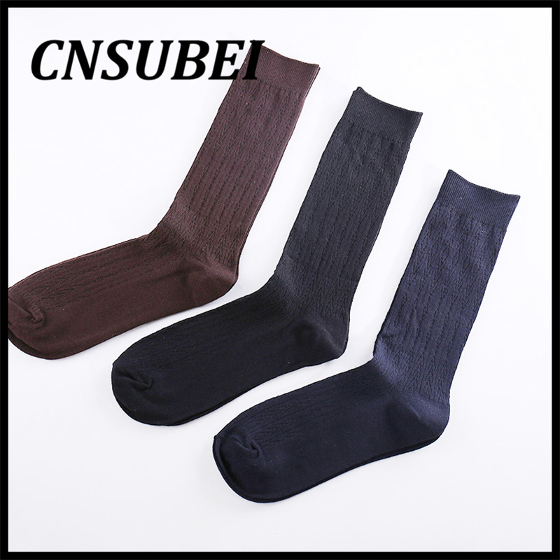 High tube sock bulk wholesale socks men solid color cotton socks