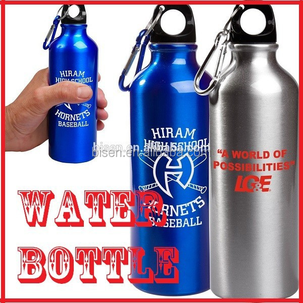Promotional Aluminum Sports Water Bottles with LOGO Printing
