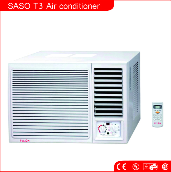 SASO T3 room mini window type air conditioner