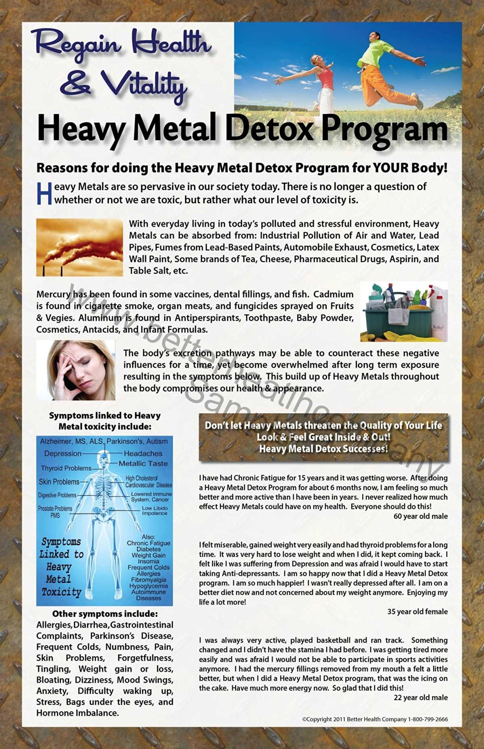 Cheap ion foot detox find ion foot detox deals on line at alibaba foot detox spa heavy metal detox 11 x 17 inch laminated promotional poster for promoting any heavy metal detox nvjuhfo Choice Image