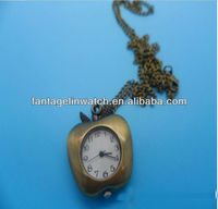 Apple shape pocket watch