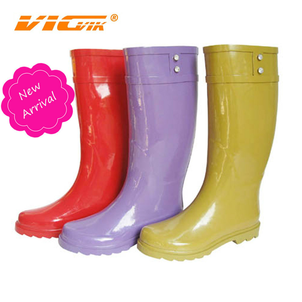 Thigh High Women Rubber Rain Boots, Thigh High Women Rubber Rain ...