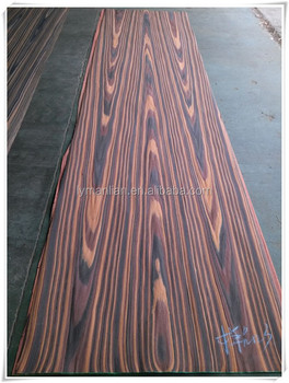 Superieur Black Ebony Veneer/macassar Ebony Veneer/engineered Wood Veneer For  Furniture