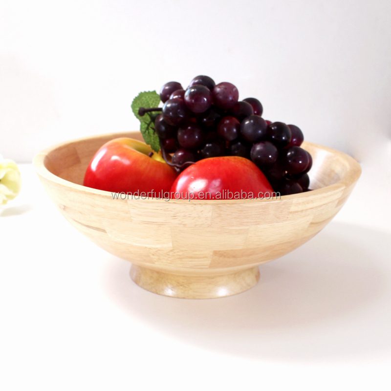 chinese manufacturer bamboo salad maker bowl bowl set with serving hands