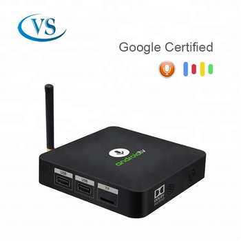 2018 Android Tv Os Voice Control Google Chromecast Tv Box Android 8 0  Amlogic S905x Tv Box - Buy Tv Box,S905x Tv Box,Android 8 0 Product on