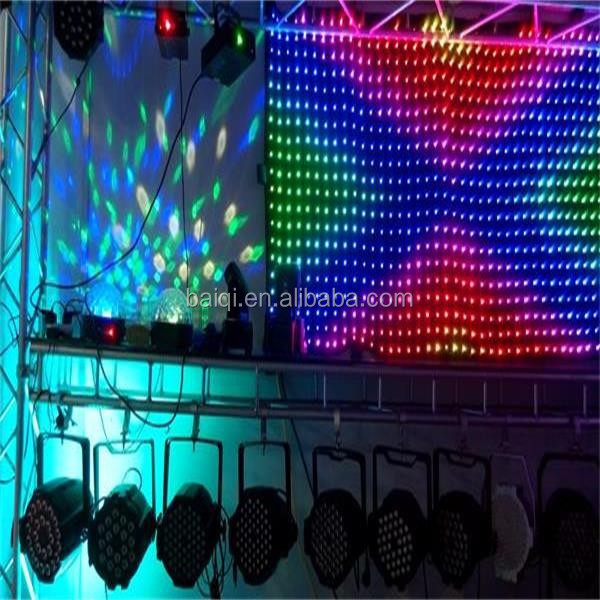 3in1 led curtain changeable images p5/p10/p15 stage led screen for concert