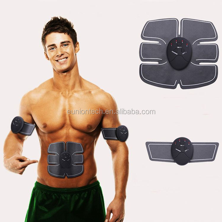 Low price fitness slimming ab abdominal toner with 6 massage modes
