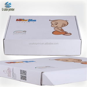 U color print carton box for baby product packaging