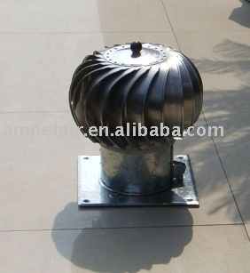 "wind driven turbine ventilator type 150 (6"")"