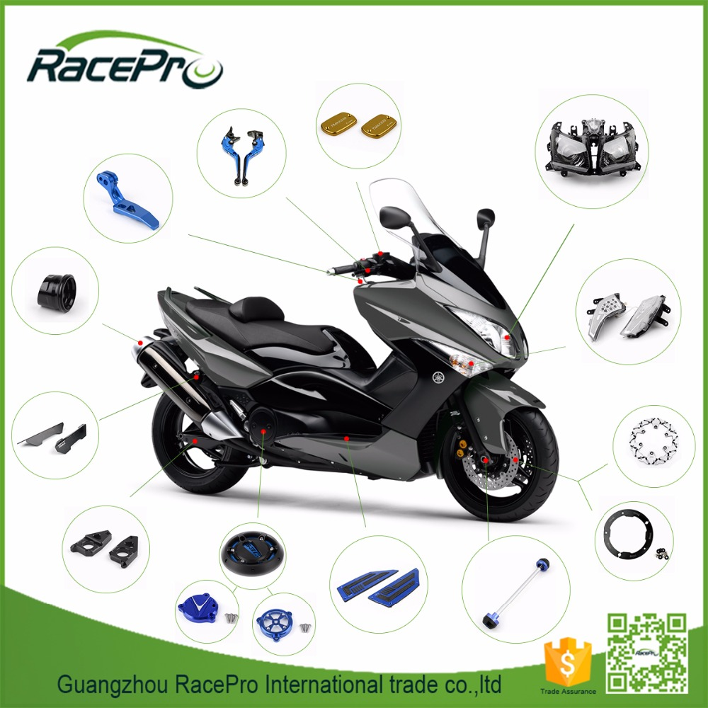 CNC Motorcycle Accessories Parts for Yamaha Scooter Tmax 530