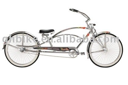 beach cruiser bike chopper cruiser bike spring fork fat tyre