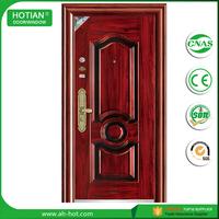 Exterior Anti-theft Doors Industrial Pressing Iron Cheap Door Used Metal Security Screen Doors