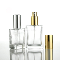 Cheapest crystal glass perfume spray bottle with 30ml and 50ml R-3000