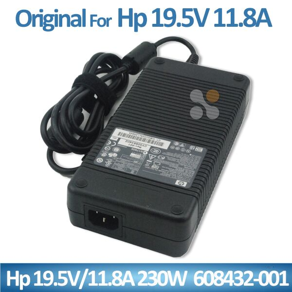 Genuine for HP laptop charger 230W AC Adapter 19.5V 11.8a 608432-003 free shipping
