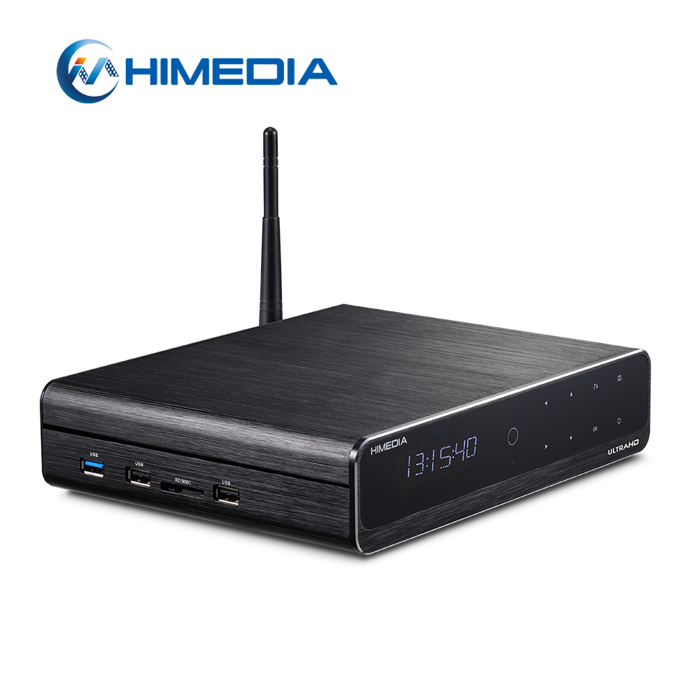 2017 mejor calidad Himedia Q10 Pro Internet WIFI Android Internet TV Box
