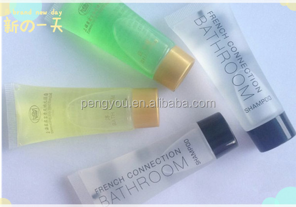 Luxury disposable hotel guest shampoo