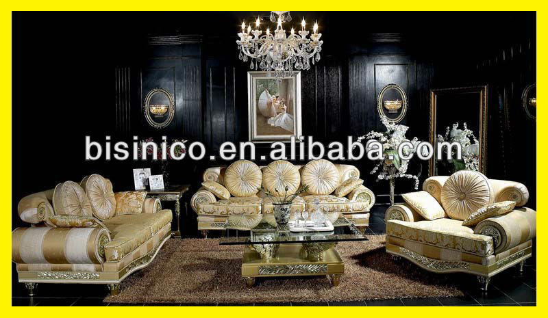 l gant salon royale canap en tissu design top qualit style italien de luxe divan meubles. Black Bedroom Furniture Sets. Home Design Ideas