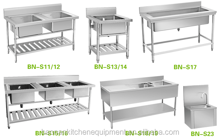 Similar Kitchen Stainless Steel Sink Benches: