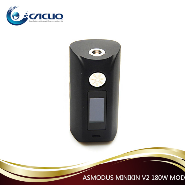 China supplier offer hot sale Asmodus minikin V2 180W Touch Screen Box mod