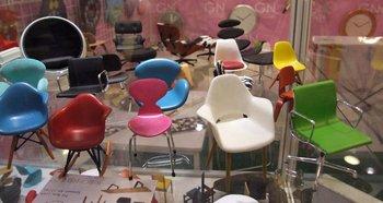 Miniatuur Design Meubels : Miniatuur design mini stoel eames stoelen meubels speelgoed buy