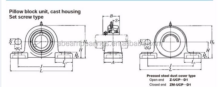 hot sell nsk beairng housing sn506 sn plummer block housing bearing