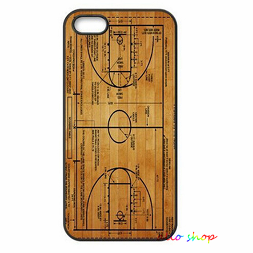 Basketball Court Diagram fashion original cell phone case cover for iphone 4 4S 5 5S 5C 6 6 plus #1326