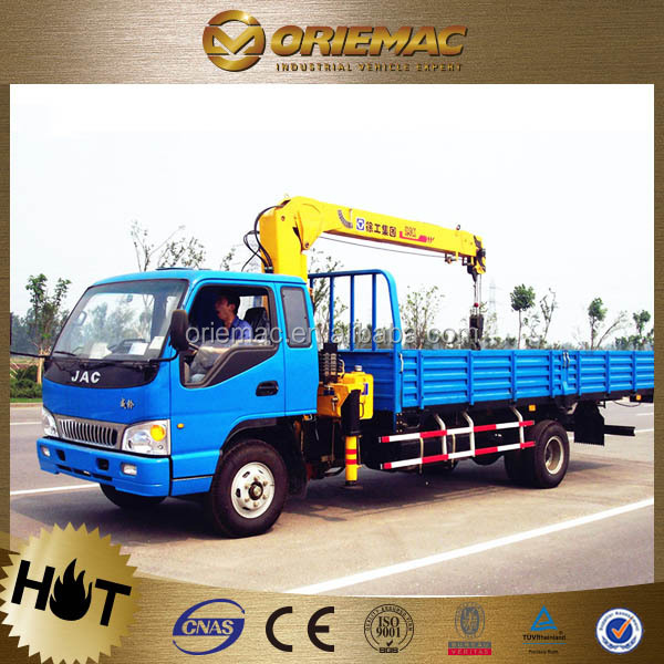 JAC 15 ton 10 ton knuckle boom truck mounted crane