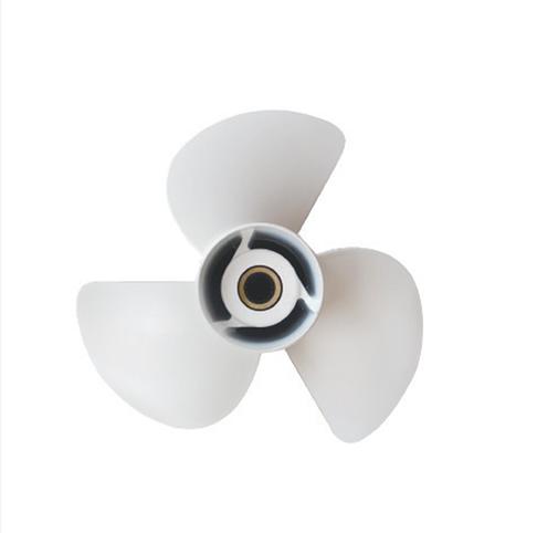 9 1//4X9P Aluminum Outboard Propeller For Yamaha 9.9-20HP 63V-45945-10-EL  .