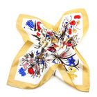 wholesale Men's print Lady 100% silk scarf from shengzhou china