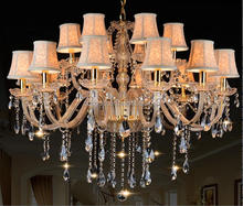 luxury crystal chandelier,fake crystal chandelier on promotion,chandelier made of shells