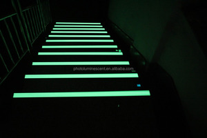 aluminum glow in dark step nosing, stair nosing, step strips